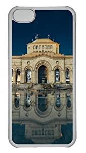 TYHde Armenia yerevan building reflection in water Custom iPhone 6 plus 5.5 Case Cover Polycarbonate Transparent ending