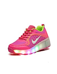 Kids Roller Shoes Flashing Skate Sneaker with Wheels for Children Youth