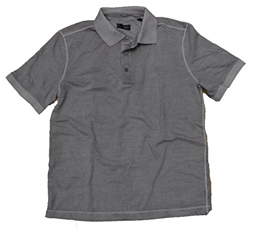 Stones Herren Poloshirt, Einfarbig grau grau Medium