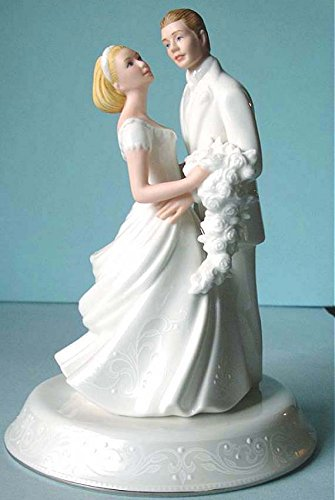 Bride And Groom Wedding Cake Topper New In Box ()