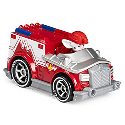 Paw Patrol Marshall's EMT Truck Diecast Car 1:55 Scale: Toys & Games