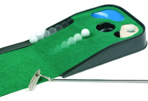JEF World Of Golf Hazard Deluxe Putting Mat (Best Golf Putting Mat)