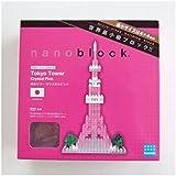 nanoblock 東京タワー クリスタルピンク 【 限定品 】 ナノブロック