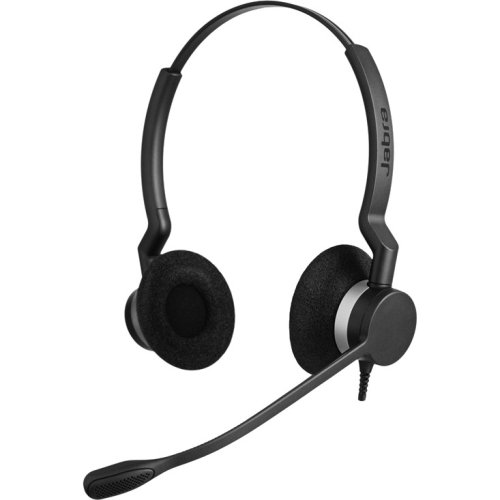 Gn Netcom A/S - Jabra Biz 2300 Headset - Stereo - Quick Disconnect - Wired - Over-The-Head - Binaural - Supra-Aural - Noise Cancelling Microphone