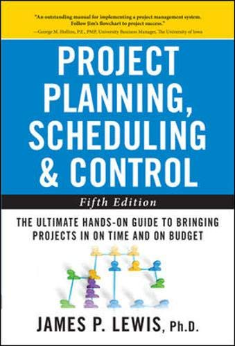 Project Planning, Scheduling, and Control: The Ultimate Hands-On Guide to Bringing Projects in On Time and On Budget , F