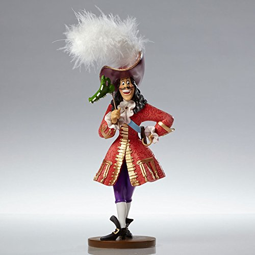 Disney Showcase Couture de Force Captain Hook Masquerade Peter Pan Figurine New New Couture Collection