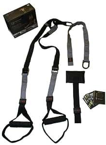 Okami Fightgear 11-0005 CML Pro Kit - Sistema de entrenamiento con cuerdas (talla única), color negro