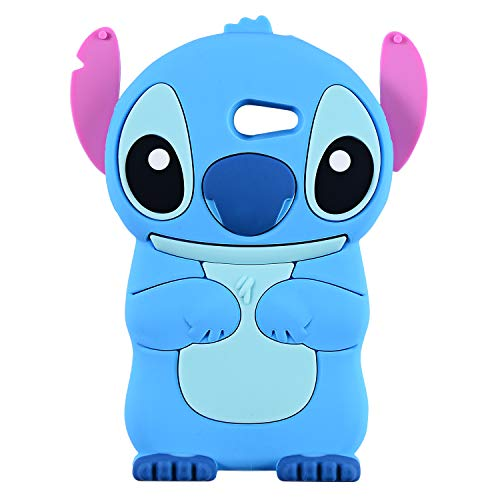 - Blue Stitch Case for Samsung Galaxy J3 Emerge/J3 Prime,Express Prime 2,J3 Mission/J3 Eclipse,3D Cartoon Animal Cute Soft Silicone Rubber Cover,Kawaii Character Cool Cases for Kids Teens Girls(J3 2017)