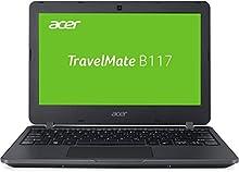 "Acer TravelMate B117-M-P994 - Ordenador portatil de 11.6"" (Intel Pentium N3710, 4GB RAM, 256GB SSD, Windows 10 Home) Negro [Teclado QWERTZ Aleman]"
