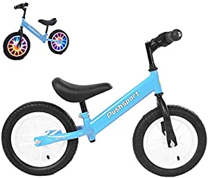 HADST Balance Bike, Toddler Training Bike Push Bikes,Adjustable Seat, No Pedal Scooter Bicycle for 18 Months, for 1, 2, 3, 4, 5,6 Year Old Kids Boys Girls Children