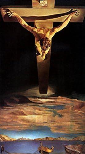 1art1 Salvador Dali Poster Reproduction - Christ De St. Jean sur ...