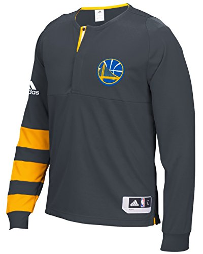 Golden State Warriors Adidas 2016 NBA On-Court Authentic L/S Shooting ()