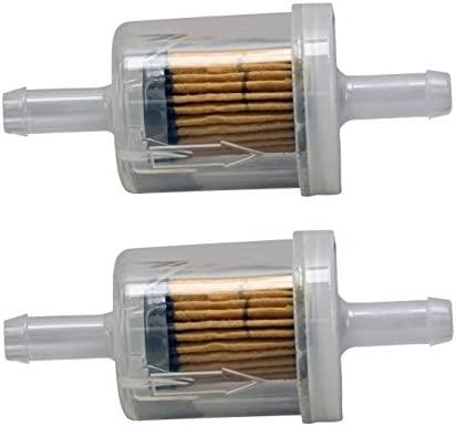 Briggs /& Stratton Genuine OEM 691035 40 Micron Fuel Filter 2 Pack