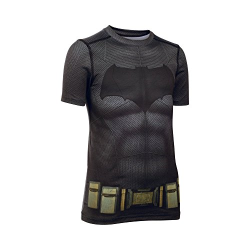 Under Armour Alter Ego Batman Fitted YLG Graphite