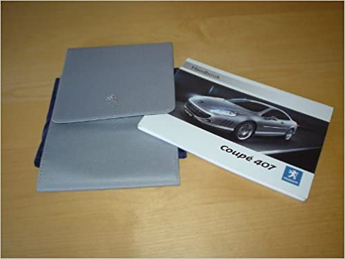 manual peugeot 407 coupe pdf