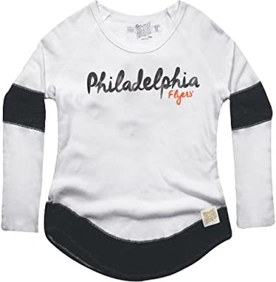 2458706d7 Amazon.com   Original Retro Brand NHL Philadelphia Flyers Women s Boyfriend  Thermal Top