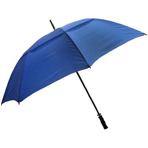 065-FSVBL Fiberglass Shaft Umbrella - Blue - Case of 24