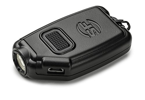 SureFire Sidekick Ultra-Compact Triple-Output Keychain Light, Black