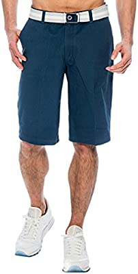 Shorts Cargo TR Fashion Mens Bahamas Belted Walking Shorts