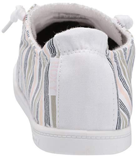 Roxy Women's Bayshore Slip on Shoe Sneaker, Novel Peach, 5.5 M US