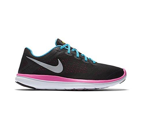 gs Slvr De Rn Nike Flex Nero Fille 2016 Bl Course blck Bls negro gmm pnk Mtllc Chaussures 1nqHxxwp7