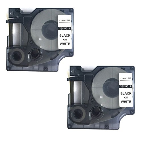 (NEOUZA 2PK Compatible for DYMO D1 Standard Label Tape 1/2