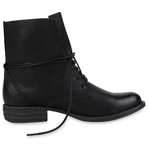napoli-fashion - Botas clásicas Mujer negro