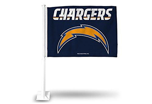 Flag San Diego Chargers (NFL San Diego Chargers Bolt/Wordmark Car Flag)