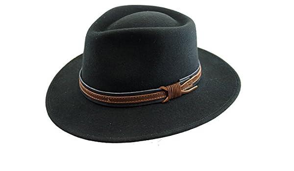 Markenlos - Sombrero de vestir - para hombre negro X-Large  Amazon.es  Ropa  y accesorios 6d59672cd3e