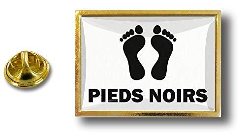 Metal Pins Badge Avec Noirs Drapeau Pieds Pince Papillon Pin's Akacha Pin dRIq77