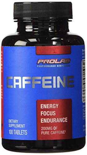 ProLab Caffeine Maximum Potency 200mg, 100-Tablets (3 Pack)
