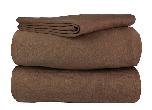 Great Quality Queen 100% Cotton 4 Piece Jersey Sheet Sets in