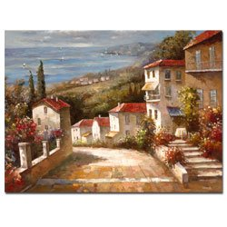 Trademark Art''Home in Tuscany'' Canvas Art by Joval by Trademark ART