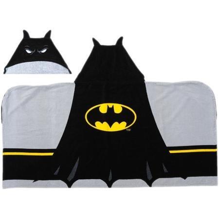 Batman Logo Hooded Towel by Franco Manufacturing by Warner Bros