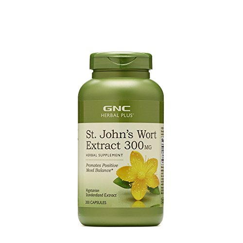 GNC Herbal Plus St. Johns Wort Extract 300MG 200 caps