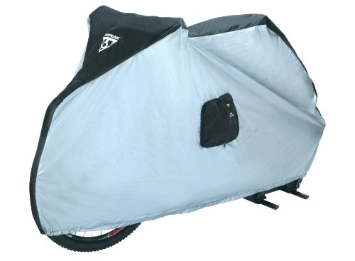 Topeak Bike Cover for 29Er 190T Nylon Uv-Proof (Black/Silver, 77.2x24.8x41.3-Inch) (Topeak Bike Cover)