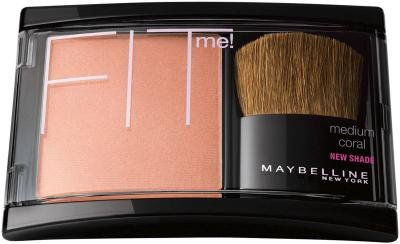 Maybelline Fit Me Blush - Medium Coral (Pack of 2)