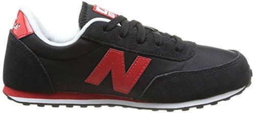 New Balance Kl410Kry - Zapatillas unisex Multicolor (Black/red)