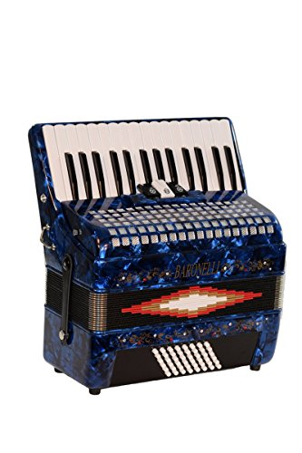 30-keys-48-bass-button-blue-diatonic-piano-accordion-key-of-sol-gcf-with-hardshell-case-padded-adjus