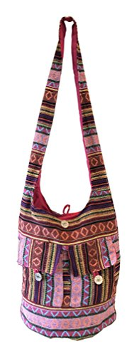 Tote Ladies Shopping Handmade Long Womens Shoulder CUBANA CLUB Pink Bag School Summer Fashion Ethnic YRpzEx