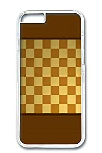 Custom Design Covers for iPhone 6 PC Transparent Case - Wooden Chess