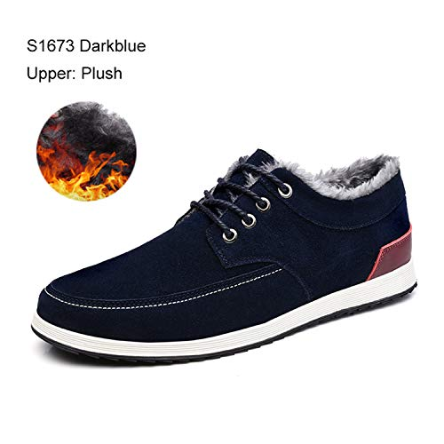 Amazon.com | Carol Chambers Mens Leather Casual Shoes Autumn Winter Sneakers Loafers Adult Moccasins Suede Shoes | Loafers & Slip-Ons