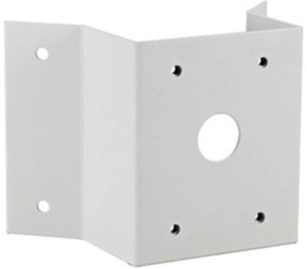 COP Security 15-CD05BSI Outside Corner Bracket for use with 15-CD510HW and 15-CD512HW Wall Mount PTZ Dome Cameras