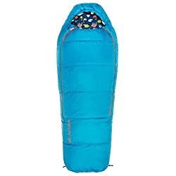 Kelty Woobie 30 Degree Kids Sleeping Bag,Short, Stuff Sack Included - Children's Sleeping Bag Ideal for Sleepovers, Camping, Backpacking and More