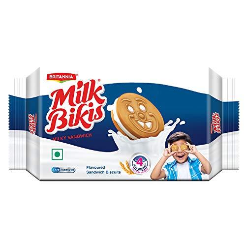 Britannia Milk Bikis Cream, Milky Sandwich, 200g (B01GCDZS0U) Amazon Price History, Amazon Price Tracker