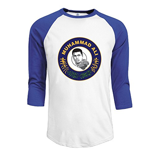 Usa Boxing Champion Ali Kentucky Flag Mens Contrast Raglan Baseball Shirt