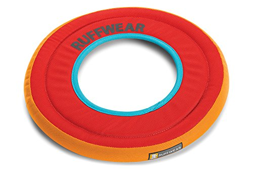 RUFFWEAR - Hydro Plane Floating Disc for Dogs, Sockeye Red