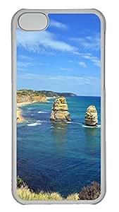 iPhone 5C Case Great Ocean Road PC Custom iPhone 5C Case Cover Transparent