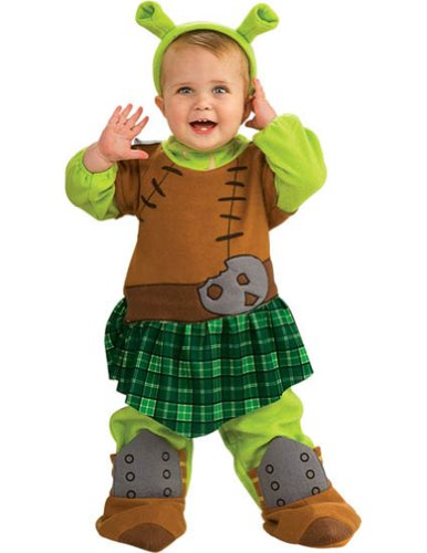 [Shrek 4 Fiona Warrior Baby Costume 6-12 Months] (Warrior Fiona Costumes)