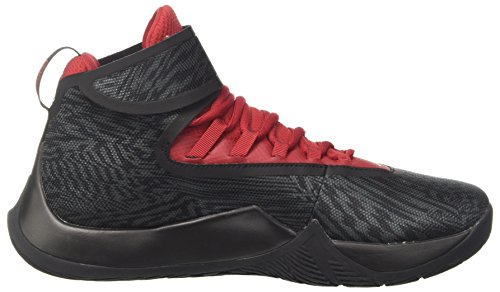Jordan Nike Herren Fly Unlimited Basketballschuh Anthrazit / Gym Rot-Schwarz